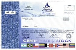 America Online - AOL Latin America - SCARCE