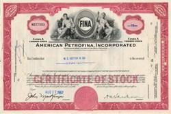 American Petrofina, Incorporated - Delaware 1967