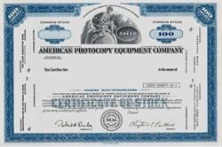 American Photocopy Equipment Company - APECO ( Comforce Corporation)