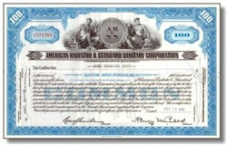 American Radiator and Standard Sanitary Company ( Now American Standard )