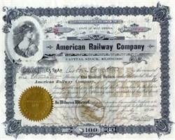 American Railway Company 1900