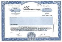 American Reprographics Company - Delaware
