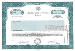 American Riviera Bank - California