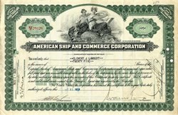 American Ship and Commerce Corporation - Delaware 1929