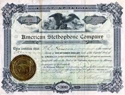American Stethophone Company - Illinois 1893