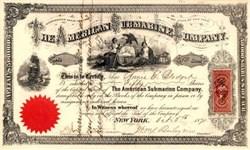 American Submarine Company 1871