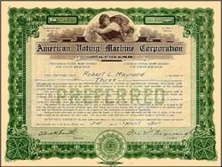 American Voting Machine Company 1924