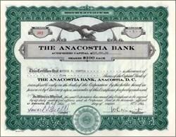 Anacostia Bank 1944