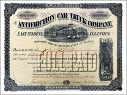 Antifriction Car Truck Company 1883