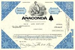Anaconda Mining Company - Montana 1976