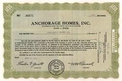 Anchorage Homes, Inc. 1945