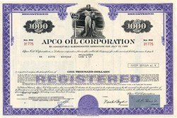 APCO Oil Corporation - Delaware 1974