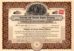 Arkansas and Arizona Copper Company