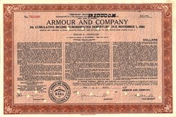 Armour and Company - Illinois 1955