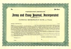 Army and Navy Journal, Incorporated - Washington, D.C. 1925