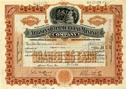 Arizona Commercial Mining Company -  Globe Hills area, Globe-Miami District, Gila Co., Arizona 1928