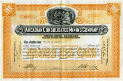 Arcadian Consolidated Mining Company - Michigan
