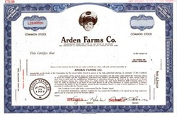 Arden Farms Co. - ( Now Gelson's Markets ) - Los Angeles, California - 1940