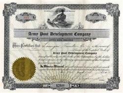 Army Post Development Company 1918 - Little Rock, Arkansas