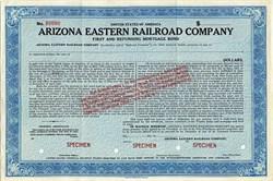 Arizona Eastern Railroad Company - Arizona 1945