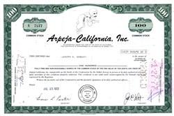 Arpeja-California, Inc. - California 1973