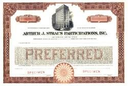 Arthur J. Straus Participations, Inc. Milwaukee - Best Western Inn Towne Vignette