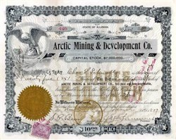 Arctic Mining & Development Co. 1899