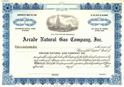 Arcade Natural Gas Company, Inc.