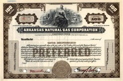 Arkansas Natural Gas Corporation ( Early Arkansas Louisiana Natural Gas Company )