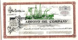 Arroyo Oil Company - Bakersfield, California 1899
