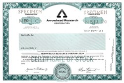 Arrowhead Research Corporation - Delaware