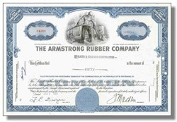 Armstrong Tire Company - (Famous Grip the Road Ad Company) - Now Pirelli Tires