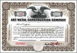 Art Metal Construction Company - Massachusettes