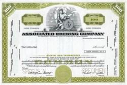 Associated Brewing Company - Michigan 1970
