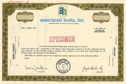 Associated Hosts, Inc. - California