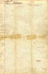 Land agreement signed by John Jacob Astor III and Chancey Depew - West Farms, New York  1887