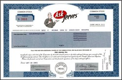 Ask Jeeves Inc - Famous Search Engine Company