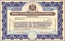 Associated Motor Terminals Company 1929 - Missouri