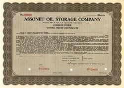 Assonet Oil Storage Company - Massachusettes