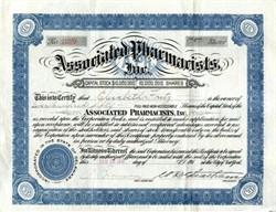 Associated Pharmacists, Inc. - New York 1918