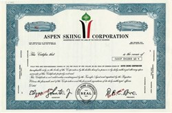 Aspen Skiing Corporation (Darcy Brown as President) - Colorado