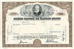 American Telephone and Telegraph - Alexander Graham Bell