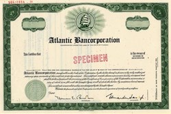 Atlantic Bancorporation - Jacksonville, Florida