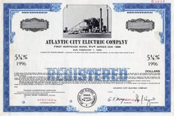 Atlantic City Electric Company - New Jersey 1966