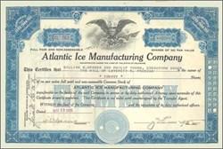 Atlantic Ice Manufacturing Company 1928