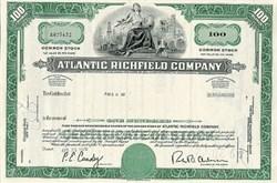 Atlantic Richfield Oil Corporation - ARCO