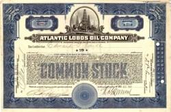 Atlantic Lobos Oil Company 1921