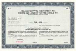 Atlantic Lottery Corporation Inc., Canada