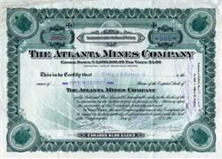 Atlanta Mines Company - Turtle Vignettes - Goldfield, Nevada 1916