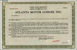 Atlanta Motor Lodges, Inc.